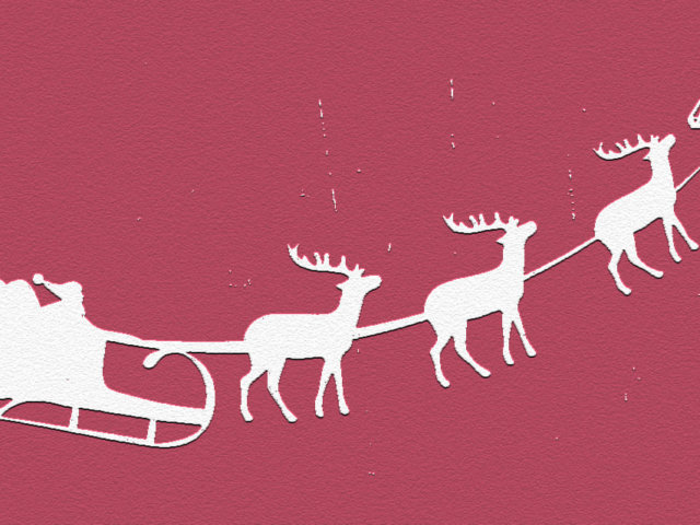Dekoracje świąteczne Święty Mikołaj