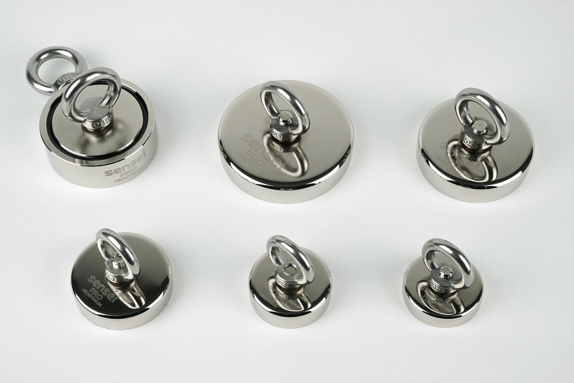 Magnesy neodymowe w różnych rozmiarach